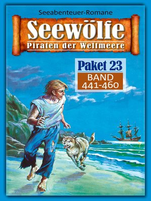 cover image of Seewölfe Paket 23