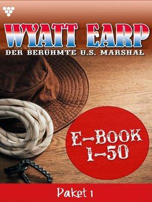 cover image of Wyatt Earp Paket 1 – Western