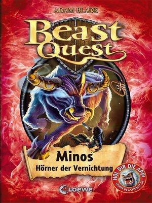 cover image of Beast Quest 50--Minos, Hörner der Vernichtung