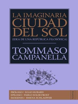 cover image of La imaginaria Ciudad del Sol