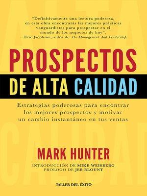 cover image of Prospectos de alta calidad