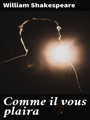 cover image of Comme il vous plaira