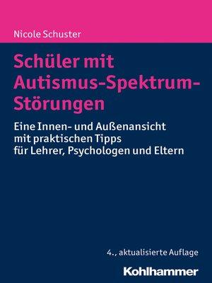cover image of Schüler mit Autismus-Spektrum-Störungen