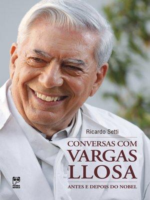cover image of Conversas com Vargas Llosa
