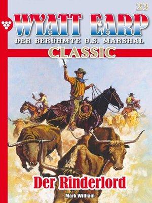 cover image of Wyatt Earp Classic 23 – Western