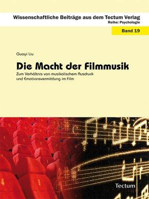 cover image of Die Macht der Filmmusik