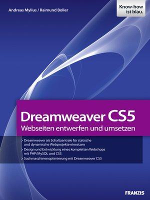 cover image of Dreamweaver CS5