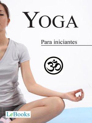 cover image of Yoga para iniciantes