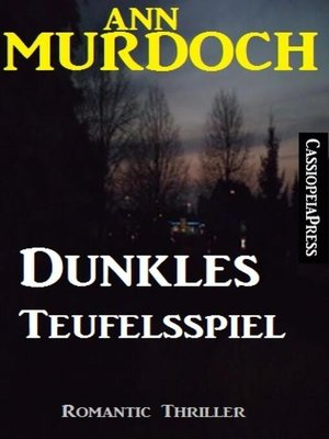 cover image of Dunkles Teufelsspiel