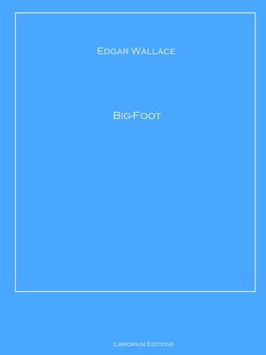 cover image of Big-Foot