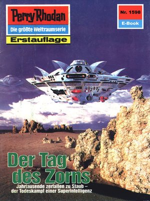 cover image of Perry Rhodan 1598