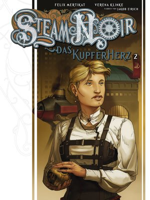 cover image of Steam Noir--Das Kupferherz 2