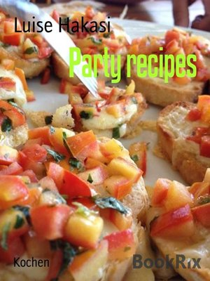cover image of Party recipes