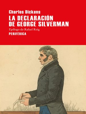 cover image of La declaración de George Silverman