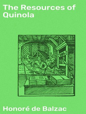 cover image of The Resources of Quinola