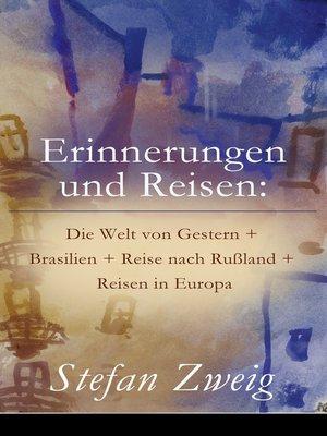 cover image of Erinnerungen und Reisen