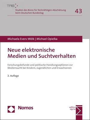 cover image of Neue elektronische Medien und Suchtverhalten