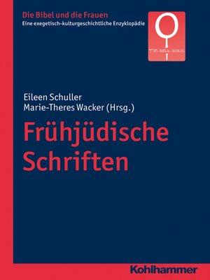 cover image of Frühjüdische Schriften