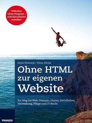 cover image of Ohne HTML zur eigenen Website