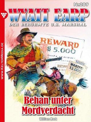 cover image of Wyatt Earp 209 – Western