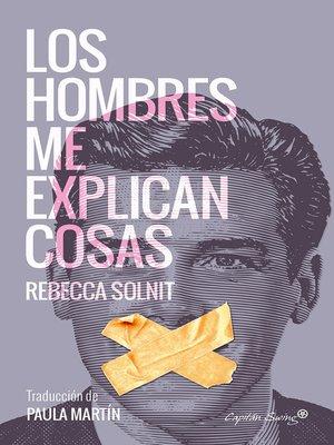 cover image of Los hombres me explican cosas