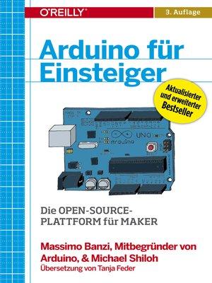 cover image of Arduino für Einsteiger
