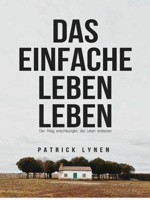 cover image of Das einfache Leben leben