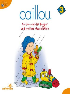 cover image of Caillou--Folgen 25-37