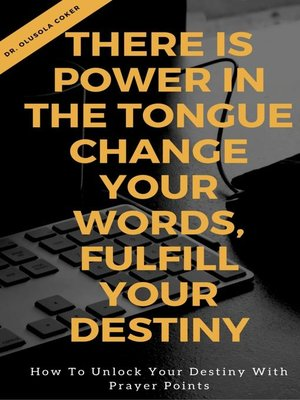 cover image of There is Power in the Tongue