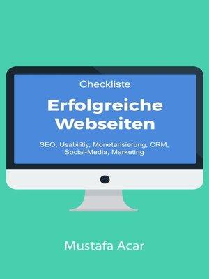 cover image of Checkliste Erfolgreiche Webseiten