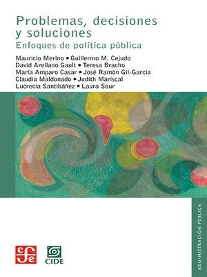 cover image of Problemas, decisiones y soluciones
