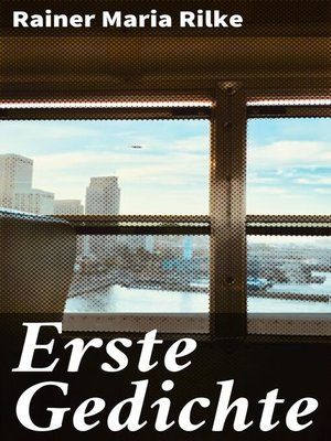 cover image of Erste Gedichte