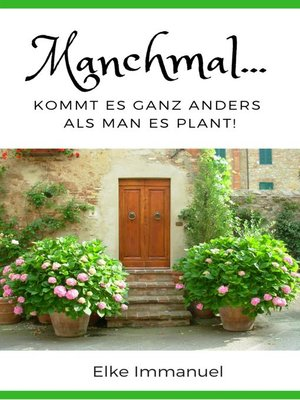 cover image of Manchmal...