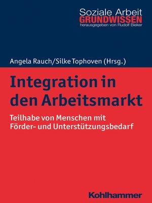 cover image of Integration in den Arbeitsmarkt