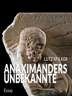 cover image of Anaximanders Unbekannte