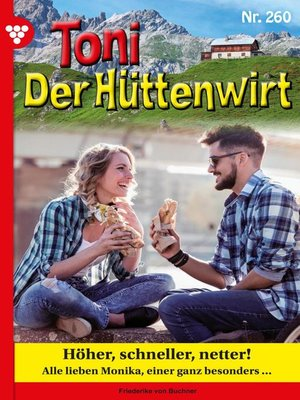 cover image of Toni der Hüttenwirt 260 – Heimatroman