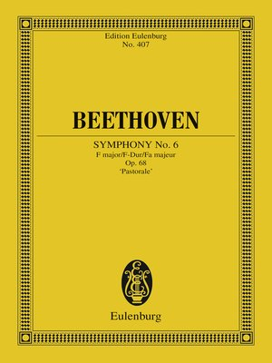 cover image of Symphony No. 6 F major