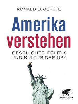 cover image of Amerika verstehen