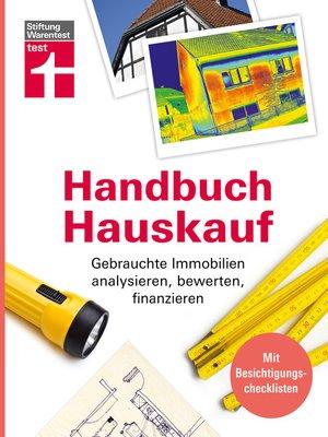 cover image of Handbuch Hauskauf