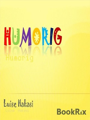 cover image of Humorig