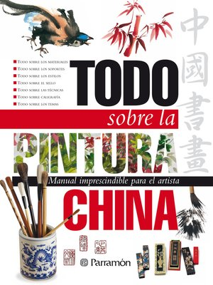 cover image of Todo sobre la pintura china
