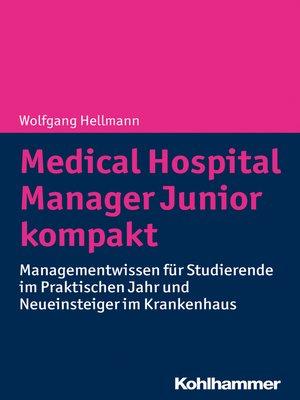 cover image of Medical Hospital Manager Junior kompakt