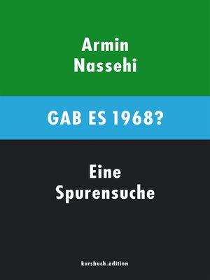 cover image of Gab es 1968?