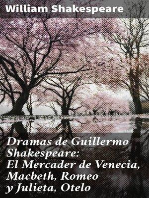 cover image of Dramas de Guillermo Shakespeare