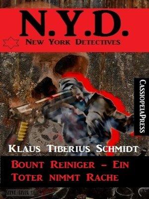cover image of Bount Reiniger--Ein Toter nimmt Rache