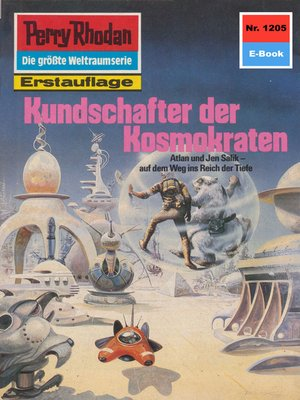 cover image of Perry Rhodan 1205