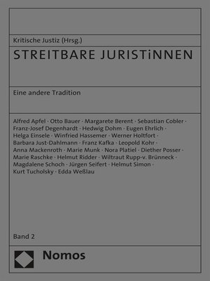 cover image of STREITBARE JURISTiNNEN