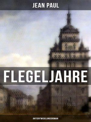 cover image of Flegeljahre