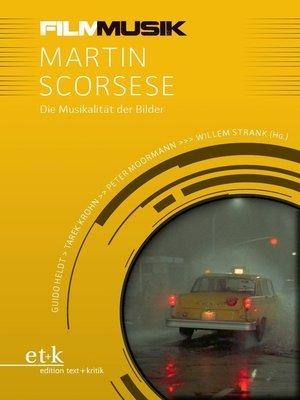 cover image of FilmMusik--Martin Scorsese