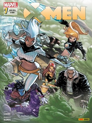 cover image of X-Men 1--Die Zuflucht